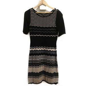 Jones Wear Striped Sweater Dress in Small